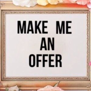 ‼️‼️OPEN TO REASONABLE OFFERS AND BUNDLE DEALS‼️‼️